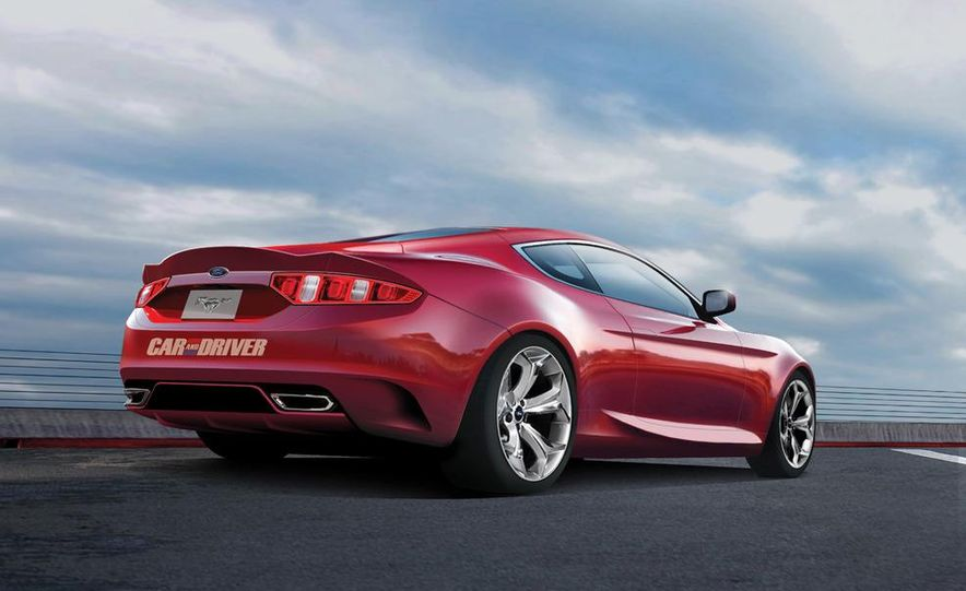 2015 Ford Mustang coupe (spy photo) - Slide 27