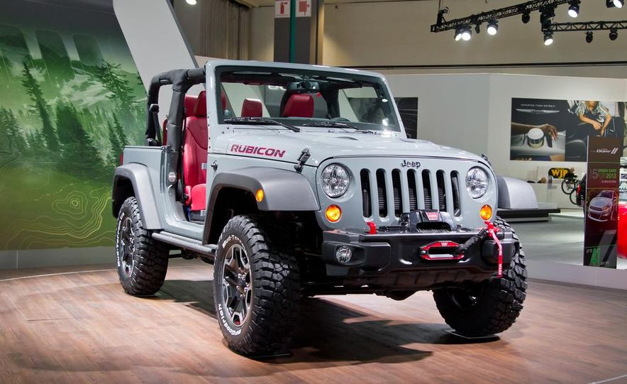 2013 Jeep Wrangler Rubicon 10th Anniversary Edition - Slide 8