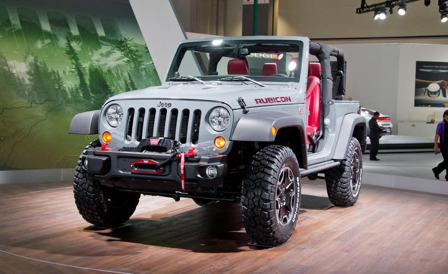 2013 Jeep Wrangler Rubicon 10th Anniversary Edition - Slide 11