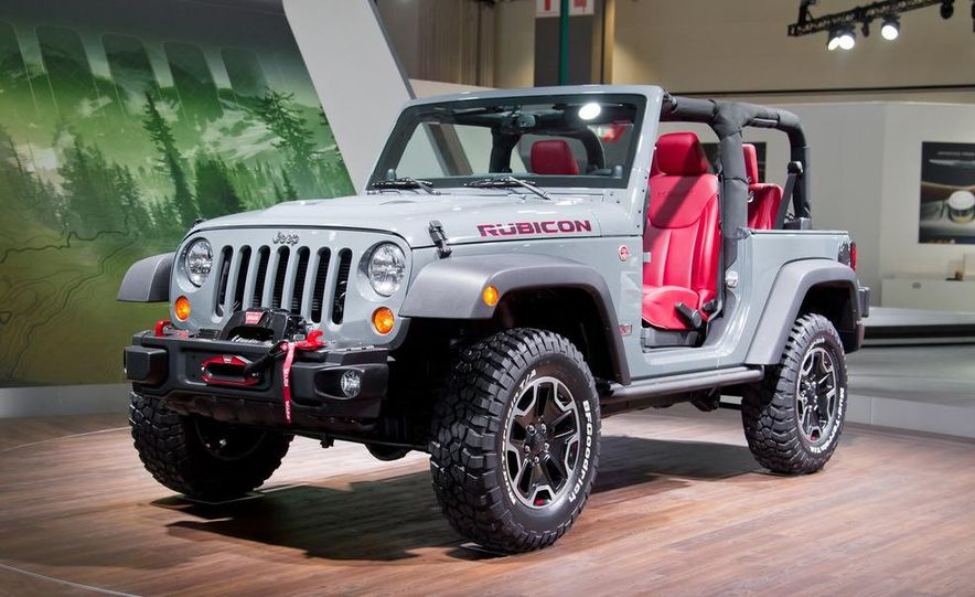 2013 Jeep Wrangler Rubicon 10th Anniversary Edition - Slide 12