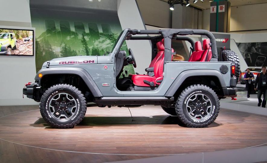 2013 Jeep Wrangler Rubicon 10th Anniversary Edition - Slide 13