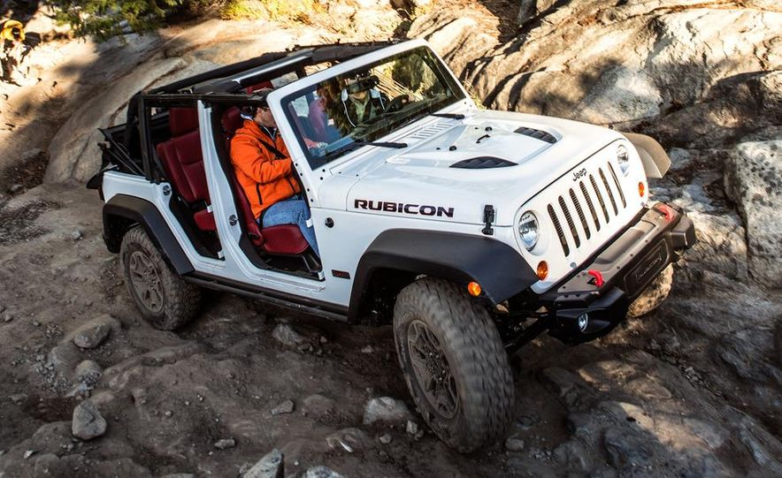 2013 Jeep Wrangler Rubicon 10th Anniversary Edition - Slide 39