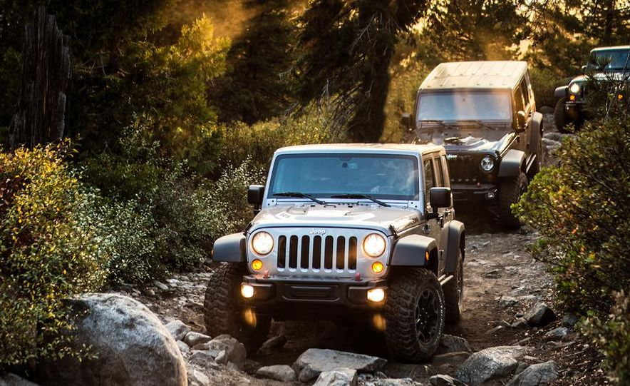 2013 Jeep Wrangler Rubicon 10th Anniversary Edition - Slide 36