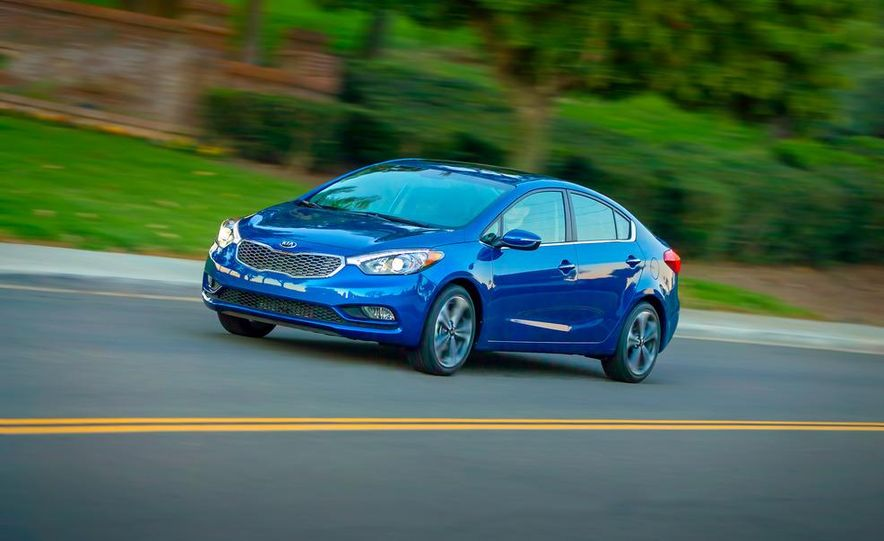 2014 Kia Forte EX GDI sedan - Slide 14