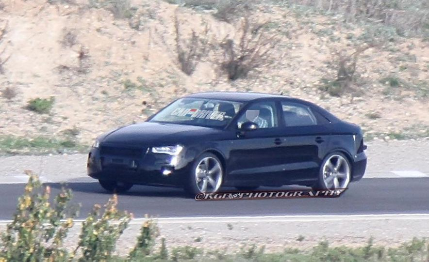 2014 Audi A3 sedan (spy photo) - Slide 1