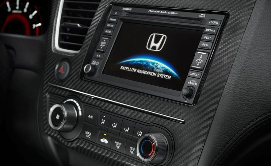 2013 Honda Civic Si sedan - Slide 48