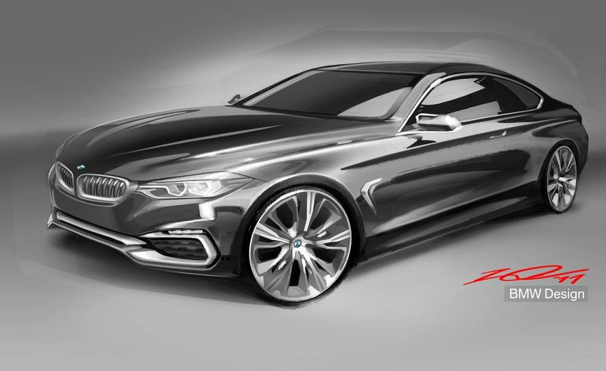 BMW Concept 4-series Coupe - Slide 52