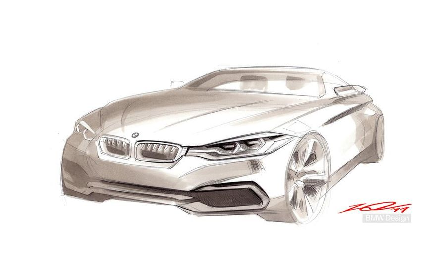 BMW Concept 4-series Coupe - Slide 56