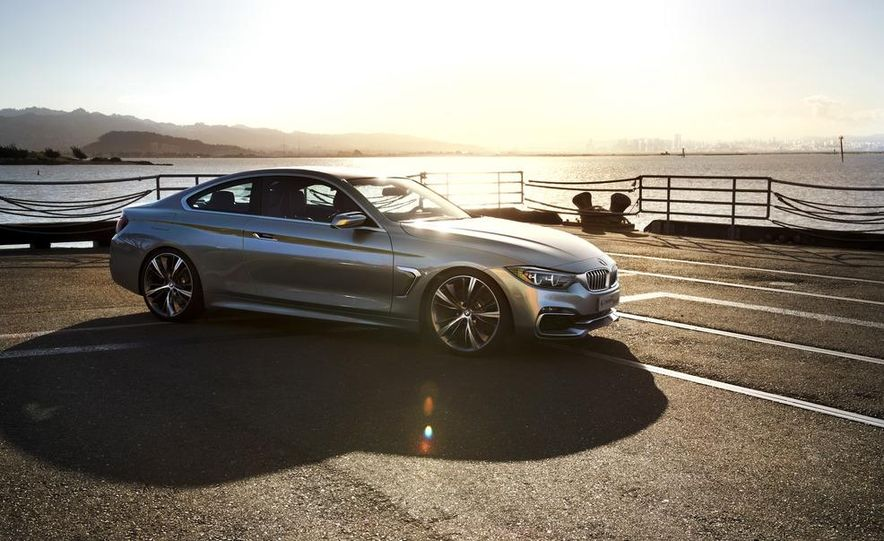 BMW Concept 4-series Coupe - Slide 20