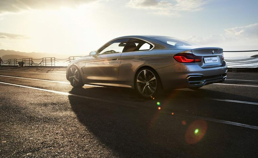 BMW Concept 4-series Coupe - Slide 23