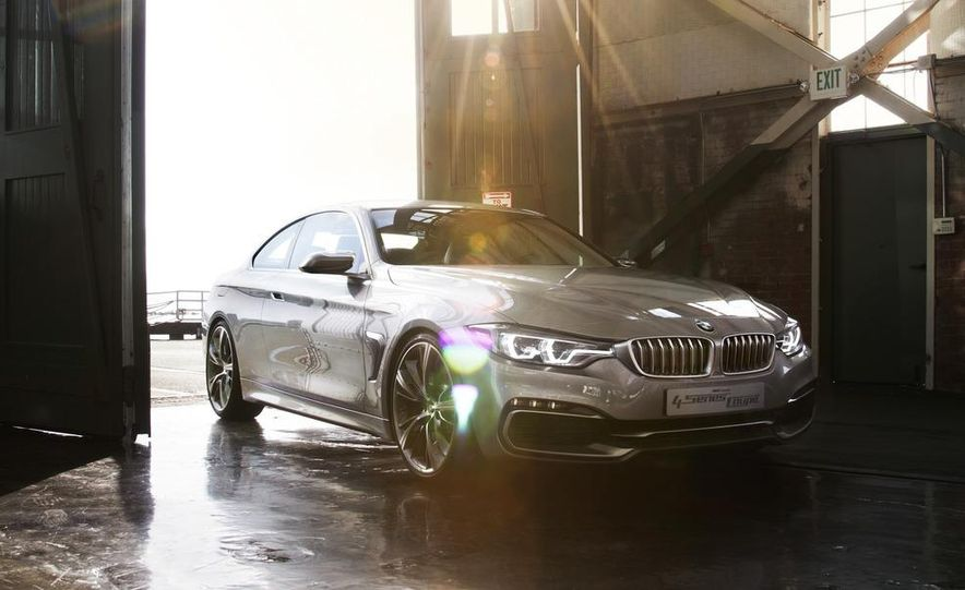 BMW Concept 4-series Coupe - Slide 24
