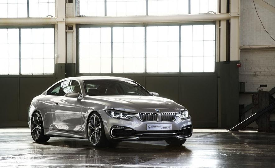 BMW Concept 4-series Coupe - Slide 26