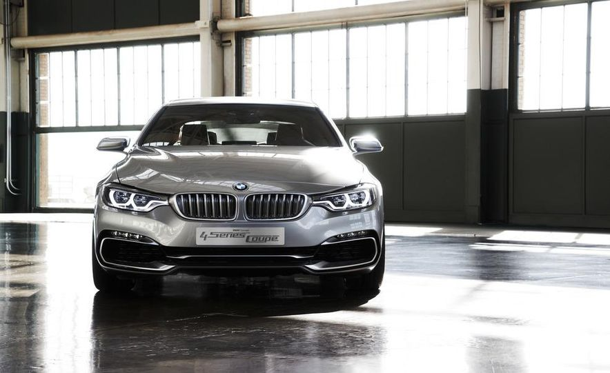 BMW Concept 4-series Coupe - Slide 27