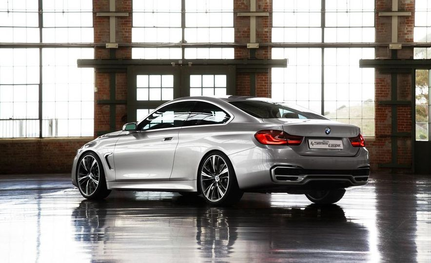 BMW Concept 4-series Coupe - Slide 31