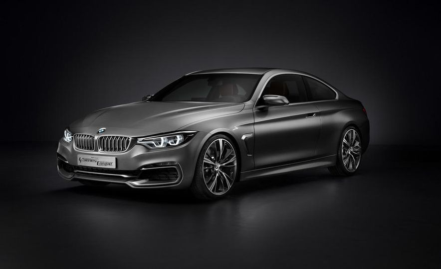 BMW Concept 4-series Coupe - Slide 34
