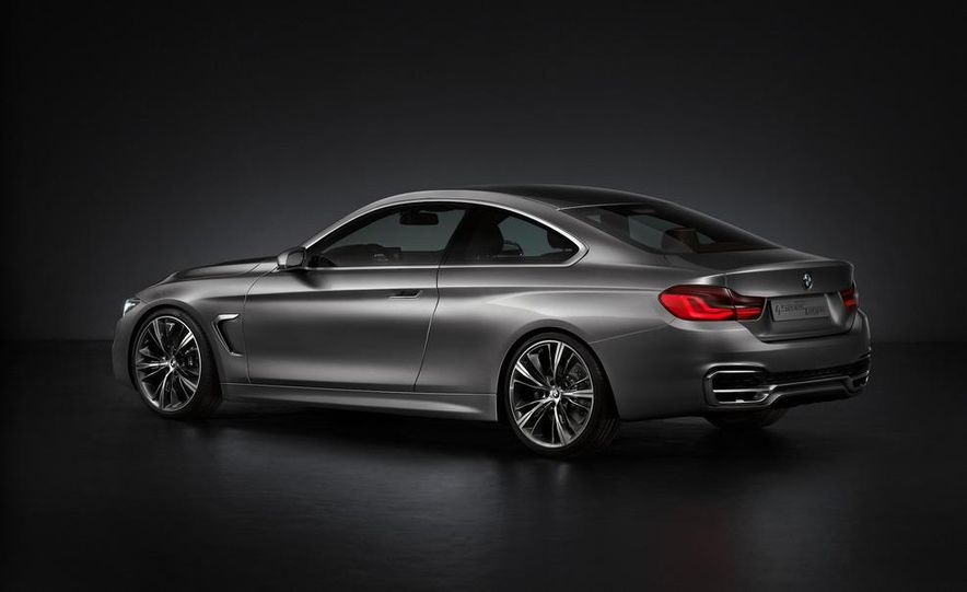 BMW Concept 4-series Coupe - Slide 37