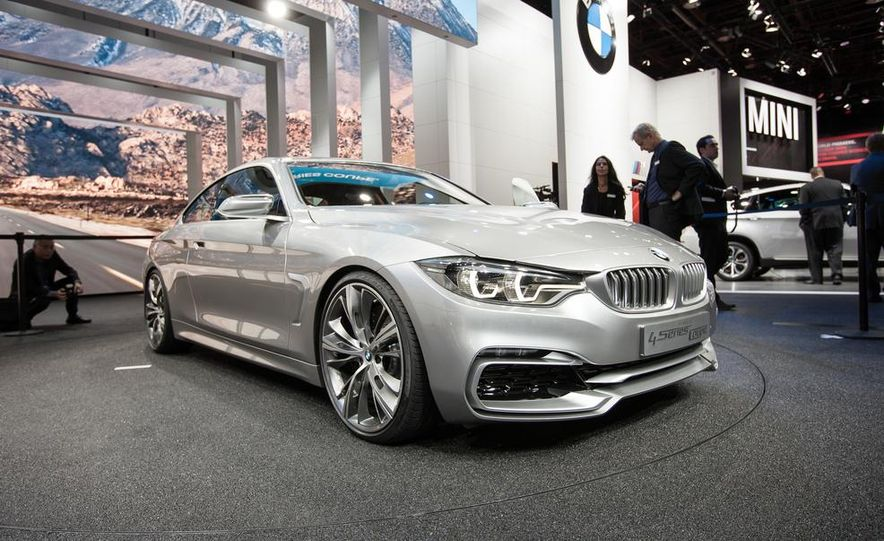 BMW Concept 4-series Coupe - Slide 1