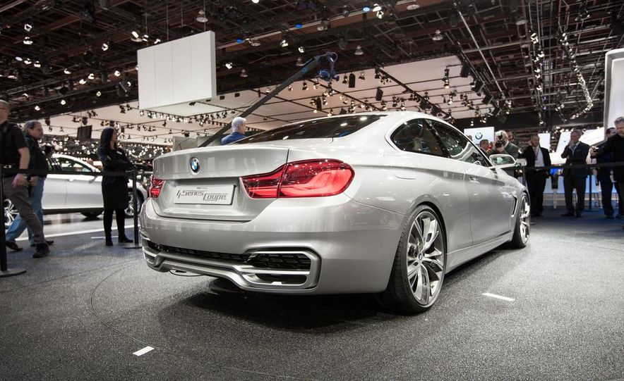 BMW Concept 4-series Coupe - Slide 3