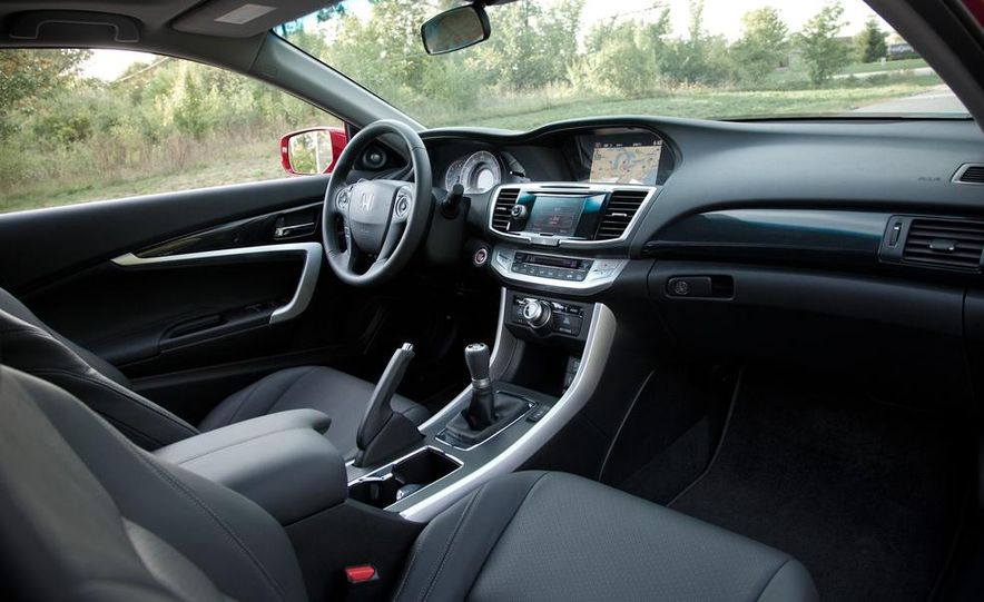 2013 Honda Accord V-6 coupe - Slide 30