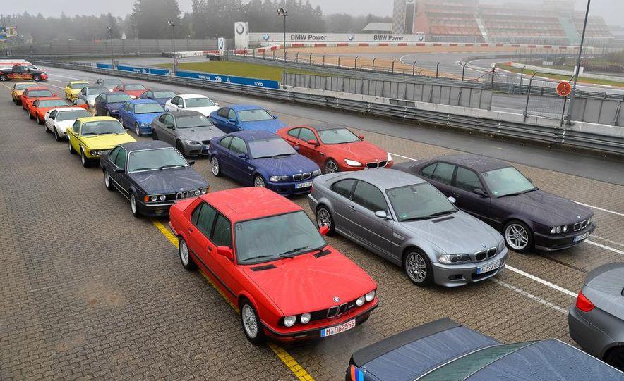 BMW M at 40: Driving History at the Nürburgring - Slide 163