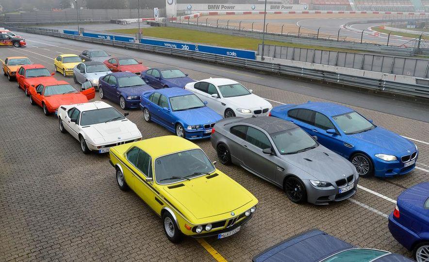 BMW M at 40: Driving History at the Nürburgring - Slide 1