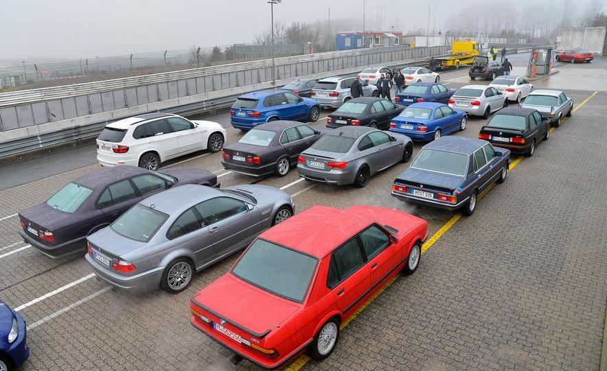 BMW M at 40: Driving History at the Nürburgring - Slide 2
