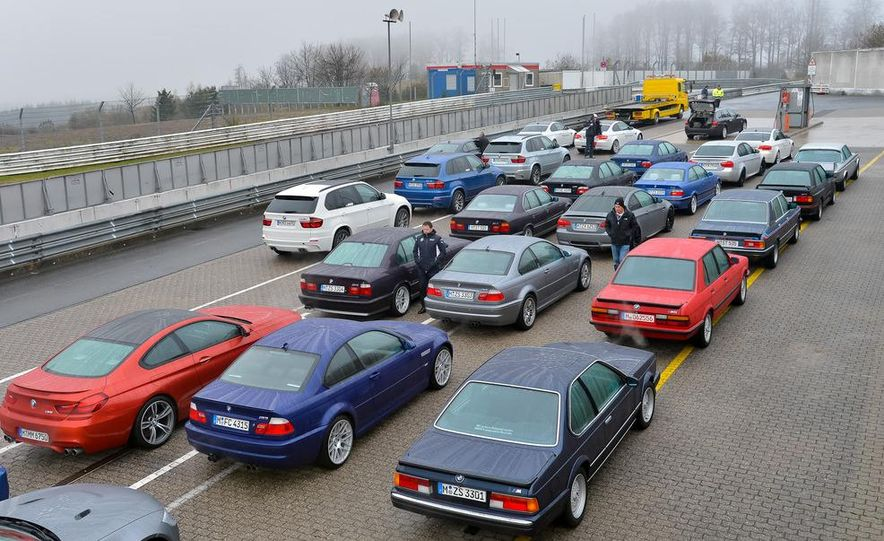 BMW M at 40: Driving History at the Nürburgring - Slide 3