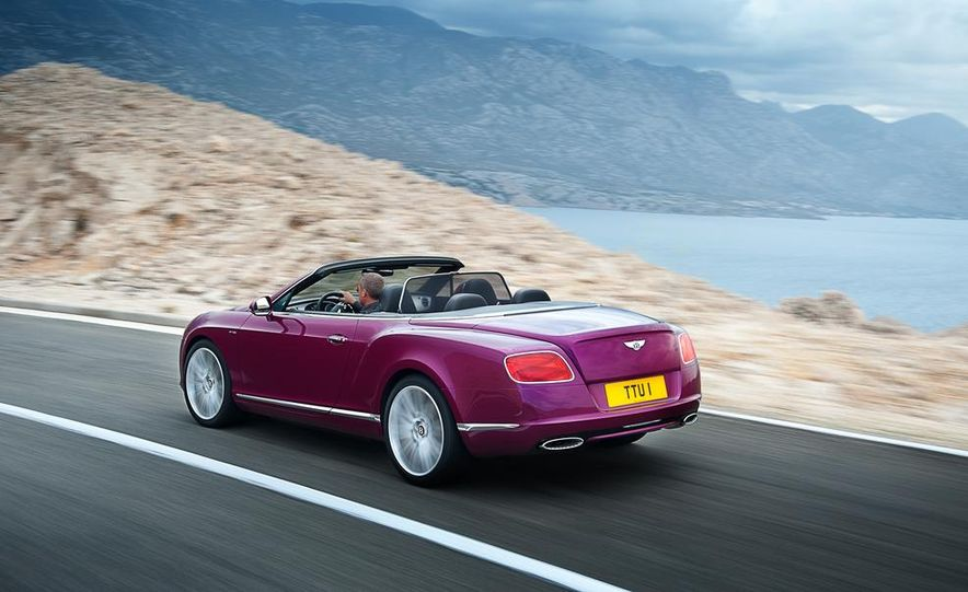 2014 Bentley Continental GT Speed convertible - Slide 2