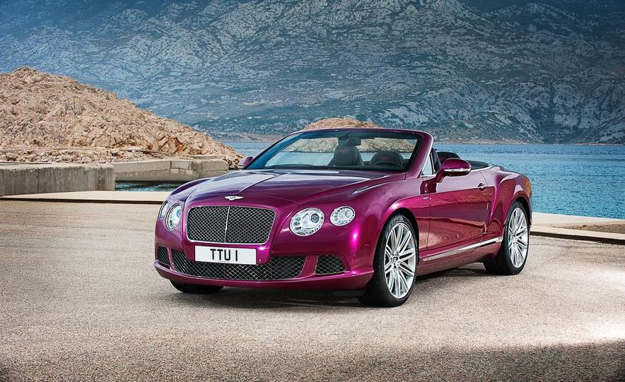 2014 Bentley Continental GT Speed convertible - Slide 3