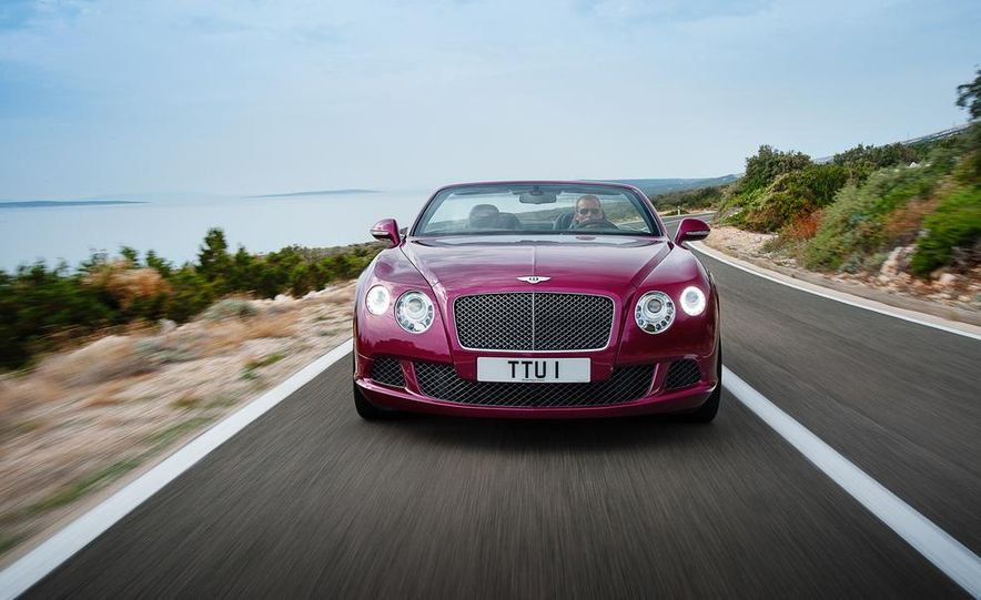 2014 Bentley Continental GT Speed convertible - Slide 4