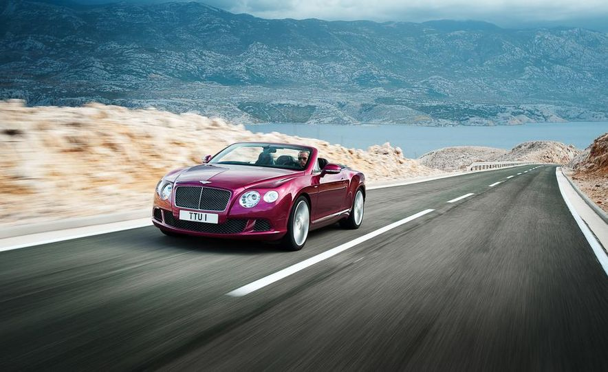 2014 Bentley Continental GT Speed convertible - Slide 1