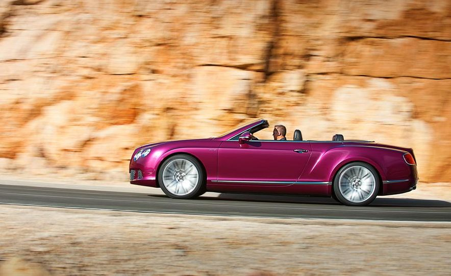 2014 Bentley Continental GT Speed convertible - Slide 7