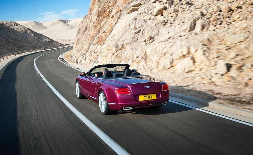 2014 Bentley Continental GT Speed convertible - Slide 8