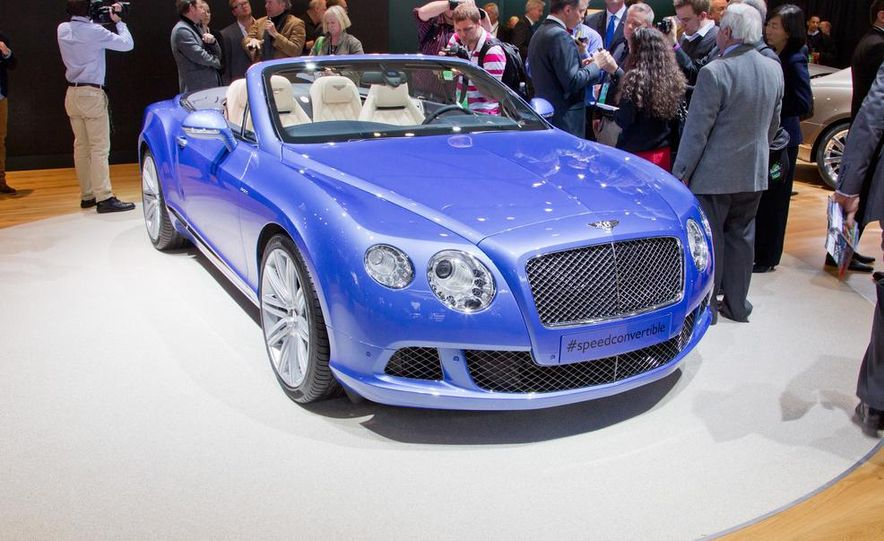 2014 Bentley Continental GT Speed convertible - Slide 11