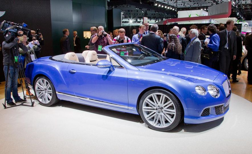 2014 Bentley Continental GT Speed convertible - Slide 13