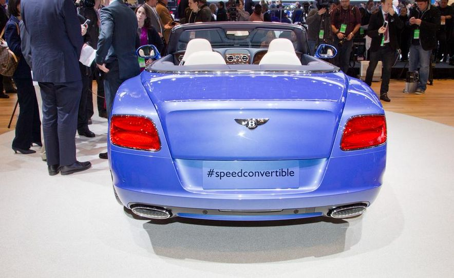 2014 Bentley Continental GT Speed convertible - Slide 14