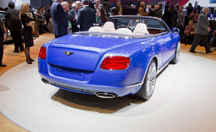2014 Bentley Continental GT Speed convertible - Slide 15