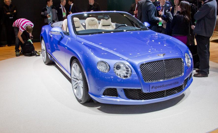 2014 Bentley Continental GT Speed convertible - Slide 18