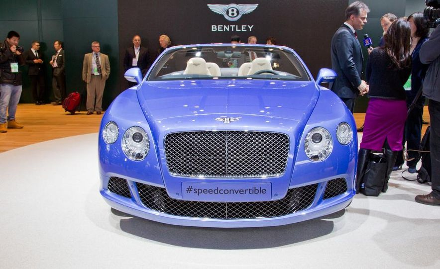 2014 Bentley Continental GT Speed convertible - Slide 19