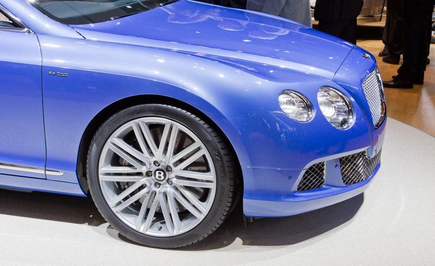 2014 Bentley Continental GT Speed convertible - Slide 22