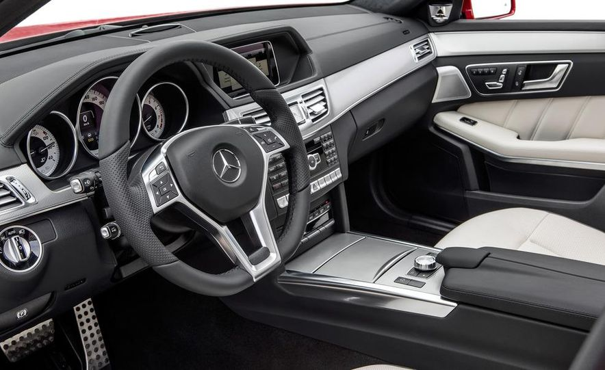 2014 Mercedes-Benz E250 wagon, E300 BlueTec Hybrid, and E350 4MATIC - Slide 57