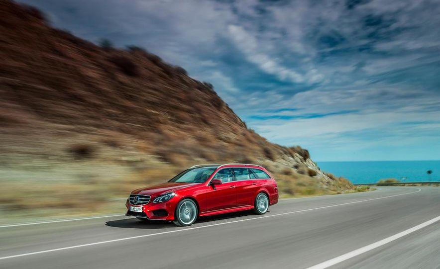 2014 Mercedes-Benz E250 wagon, E300 BlueTec Hybrid, and E350 4MATIC - Slide 38