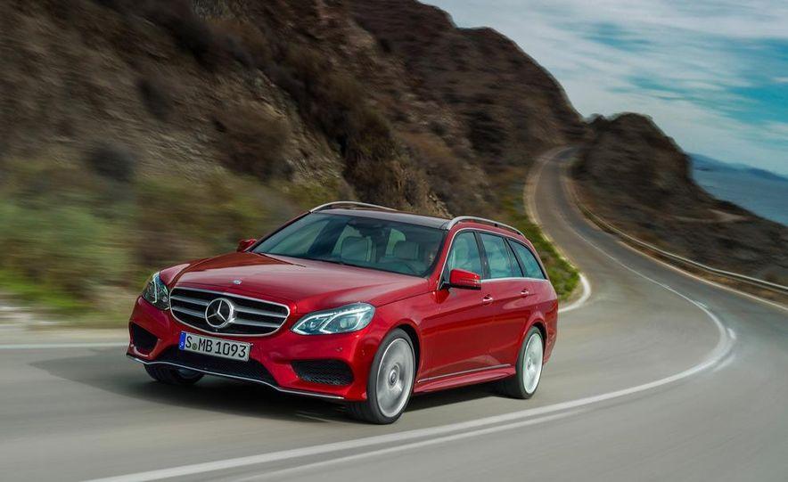 2014 Mercedes-Benz E250 wagon, E300 BlueTec Hybrid, and E350 4MATIC - Slide 39