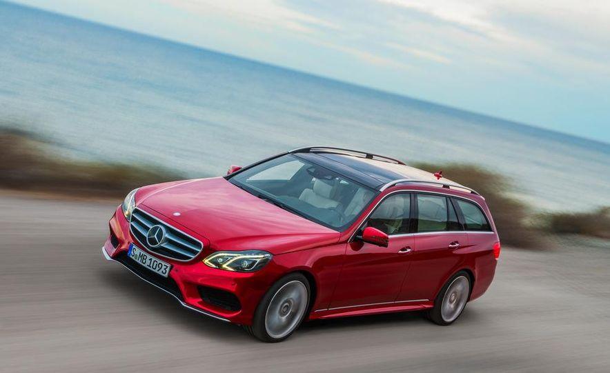 2014 Mercedes-Benz E250 wagon, E300 BlueTec Hybrid, and E350 4MATIC - Slide 40
