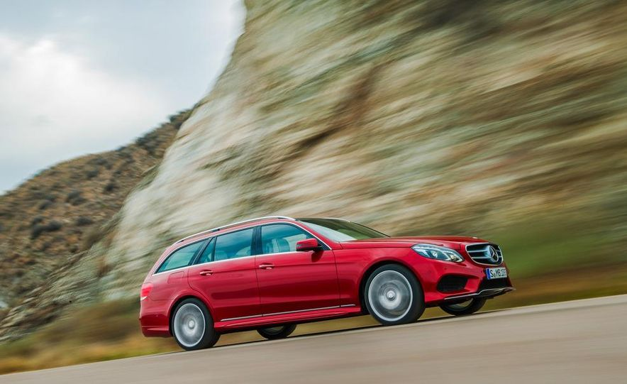 2014 Mercedes-Benz E250 wagon, E300 BlueTec Hybrid, and E350 4MATIC - Slide 41