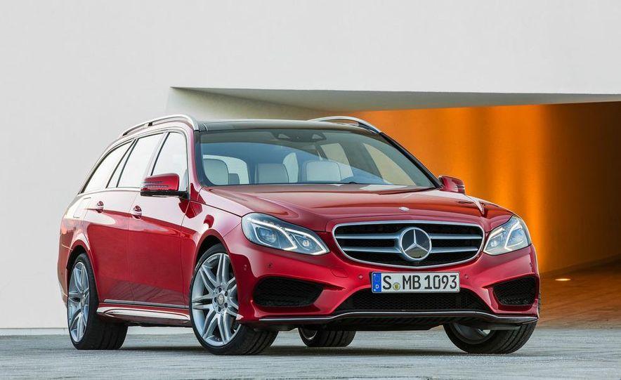 2014 Mercedes-Benz E250 wagon, E300 BlueTec Hybrid, and E350 4MATIC - Slide 43
