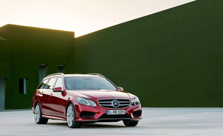 2014 Mercedes-Benz E250 wagon, E300 BlueTec Hybrid, and E350 4MATIC - Slide 45