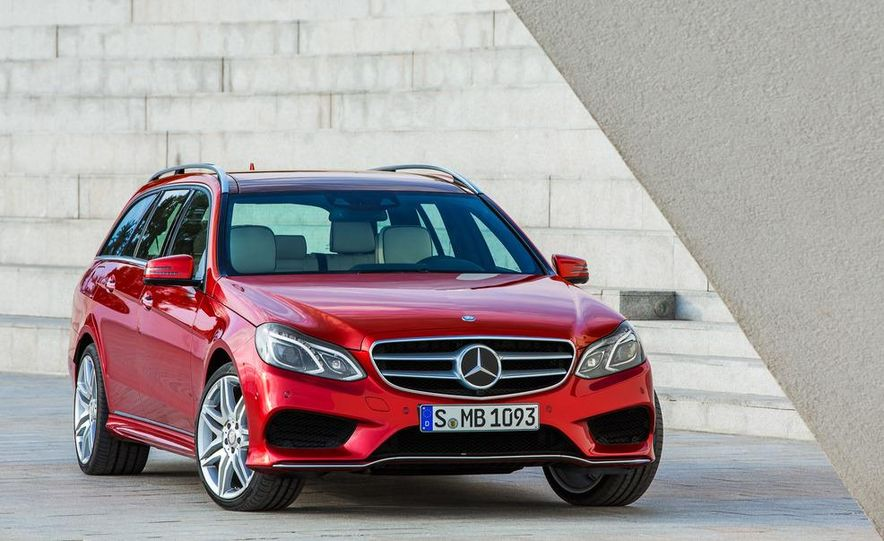 2014 Mercedes-Benz E250 wagon, E300 BlueTec Hybrid, and E350 4MATIC - Slide 47