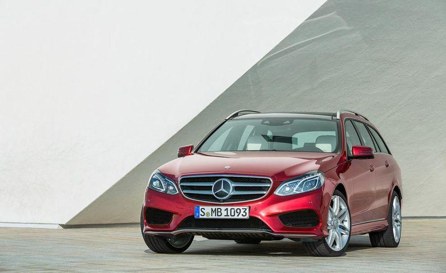 2014 Mercedes-Benz E250 wagon, E300 BlueTec Hybrid, and E350 4MATIC - Slide 48