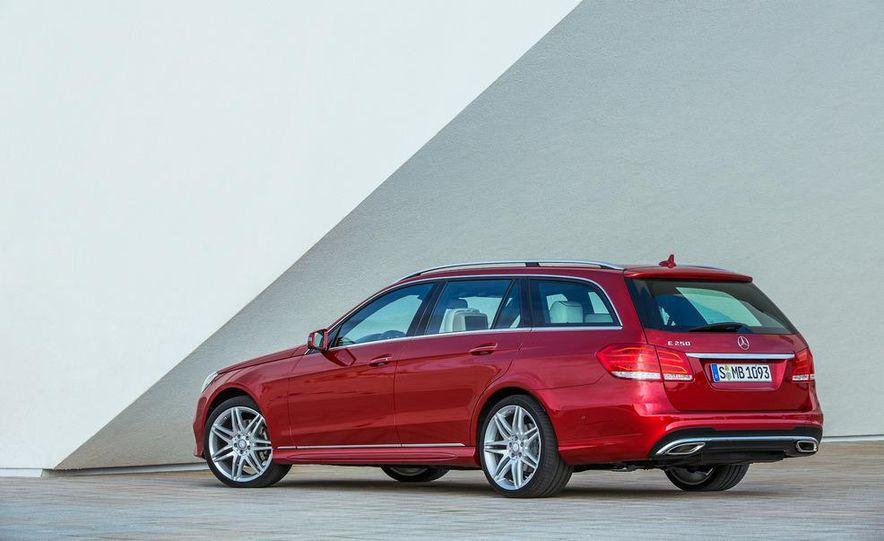 2014 Mercedes-Benz E250 wagon, E300 BlueTec Hybrid, and E350 4MATIC - Slide 50